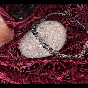 JCrew costume rhinestone necklace
